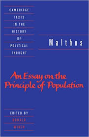malthus an essay on the principle of population cambridge malthus an essay on the principle of population cambridge texts in the history of political thought revised ed edition