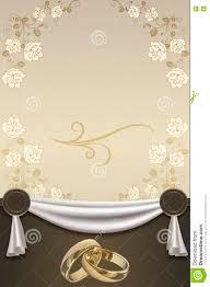 Wedding Invitation Letter Background Design Invitation