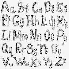 英語のアルファベットの文字のセット ストックベクター Imhope