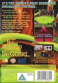 charlie and the chocolate factory box shot for pc gamefaqs charlie and the chocolate factory box back