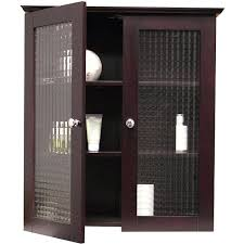 bathroom cabinet with glass doors excellent bathroom wall cabinet with two tempered glass doors modern storage intended for storage wall cabinets with doors