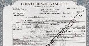Sample Of 19 California Birth Certificate Sample Spice Up Your