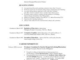 Fresh Inspiration Interior Designer Resume 16 Senior Interior