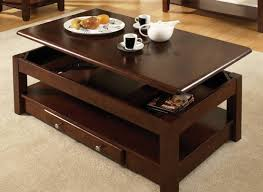 coffee table formidable aida storage with lift up top