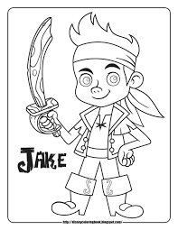 jake neverland pirates coloring pages.  Pirates Jake And The Never Land Pirates Coloring Pages 32 With   Neverland X