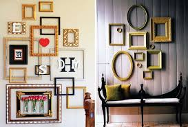 10 Imaginative And Inexpensive Ways To Frame Your Favorite Art 6sqft  Throughout Empty Frames Wall Art