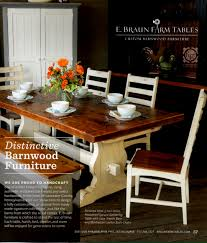 custom made wood furniture fresh see us in the spring issue of fig kennett square reclaimed