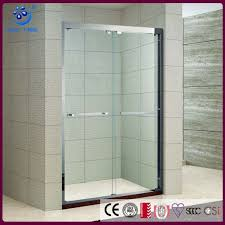 new offset bypass sliding shower enclosure 5 foot glass shower door kd5211a