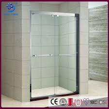 new offset bypass sliding shower enclosure 5 foot glass shower door kd5211a