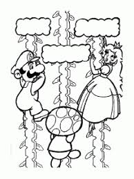 Searching for a coloring page? Mario Bros Free Printable Coloring Pages For Kids
