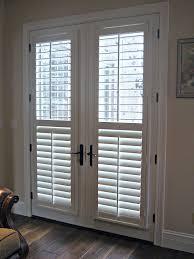wood door blinds. Blinds For Wooden French Doors Door Covering Choosing With Patio Decor 3 Wood