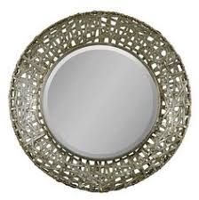 Small Picture Extra Large CELTIC KNOT Round Wall Mirror Silver Gold Circle