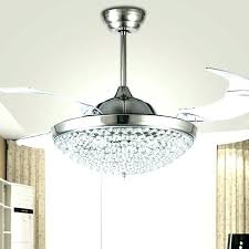 hang chandelier from ceiling fan chandeliers combo regarding idea 12