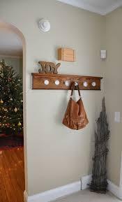 Knob Coat Rack Before After Glass Doorknob Coat Rack Glass door knobs Door 44