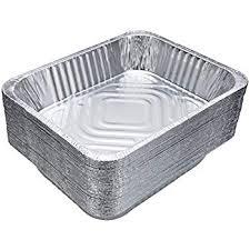 Aluminum Pan Sizes Chart Amazon Com Aluminum Foil Pans 15 Piece Full Size Deep