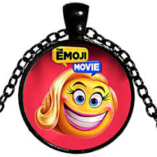 copper plated alloy children anime cartoon the emoji necklace crazy happy necklace crazy happy emoji pendant necklace 2018 hot x500