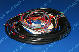 harley davidson 70153 70 1970 early 1971 xlch complete wiring harness