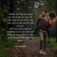 At the start of a relationship, everything seems so perfect but as time goes by you start to face relationship problems. 40 Family Isn T Always Blood Quotes And Sayings