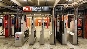 subway station turnstile. Perfect Subway New York City Subway Station Turnstiles Intended Station Turnstile