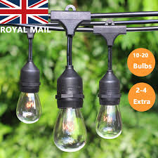 Industrial String Lights Details About 11 20m Vintage Industrial Style Connectable Waterproof Festoon String Lighting