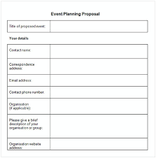 Event Planning Proposal Event Proposal Template Cycling Studio