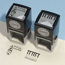 music note stamp music notes self inking stamp at the music stand