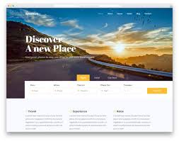 Free Templates Adventure 2 Free Html Travel Website Template 2019 Colorlib