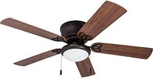 rustic hugger ceiling fans. Plain Hugger Prominence Home 4027101 Brealey Hugger Ceiling Fan With LED Bowl Light  Low For Rustic Fans