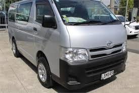 2011 Toyota Hiace 4WD 3L Diesel Manual Regius Van on handshake