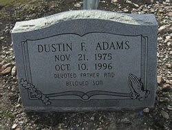 Dustin Franklin Adams (1975-1996) - Find A Grave Memorial