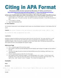 Apa Style In Writing Research Papers Paper Example Psychology Of
