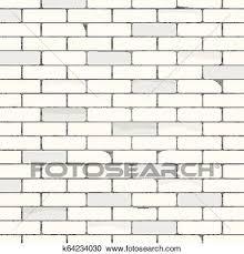 white brick wall texture pattern