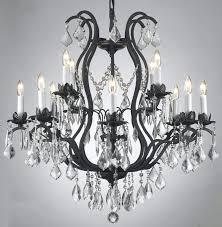 rustic crystal chandelier lighting ideas vintage black rustic iron crystal chandelier for rustic bronze crystal chandelier