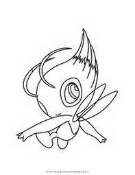 Disegno Pokemon Celebi 2 Personaggio Cartone Animato Da Colorare