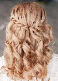 Cheveux Long Bouclé Frais Coiffure Mariage Tresse 35 Photos
