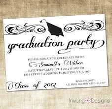 Create A Graduation Invitation Graduation Invitation Wording Paperstyle Graduation Invitation
