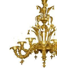 venetian glass chandelier large interlocking from for 1