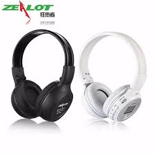 pioneer bluetooth headphones. original zealot b570 foldable hifi stereo wireless bluetooth headphone with lcd screen fm radio mic support pioneer headphones