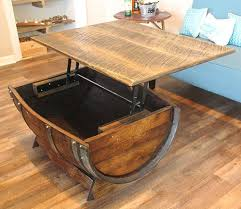 Wine barrell furniture Unique Etsy The 11 Best Oak Barrel Coffee Tables In The Universe