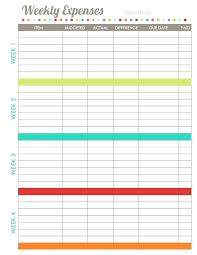 Sample Of Family Budget Sample Family Budget Template Printable Free Dailystonernews Info