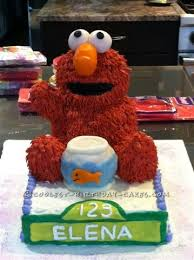 330 Coolest Homemade Sesame Street Birthday Cakes