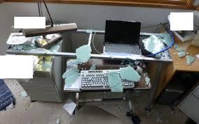 computer laptop desk home glass for desks marvelous table black small office corner spaces drop dead