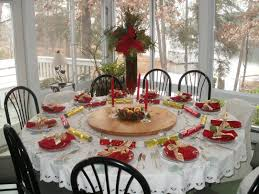 Round Dining Table Setting Ideas
