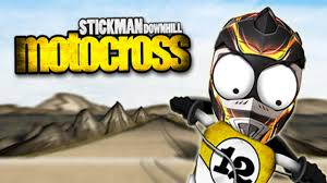 Stickman Downhill Motocross Android Gameplay Youtube