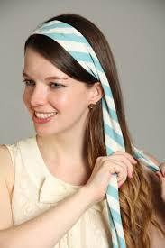 7 Originálních Způsobů Jak Na šátek Do Vlasů Loshairoscom