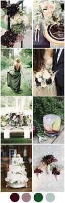 Perfect Autumn Wedding Colours Deep Plum Pretty Sage Autumn
