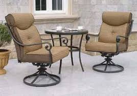 better homes and gardens cushions. Fine Gardens Better Homes And Gardens Mika Ridge 3Piece Bistro Set Replacement Cushions Throughout And T