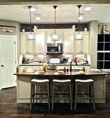 kitchen table chandelier light over island lighting home depot intended small