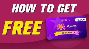 How to Get Free Myntra Gift Card