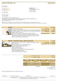 Price Quote Amazing CRM Price Quote Order Invoice Offeris